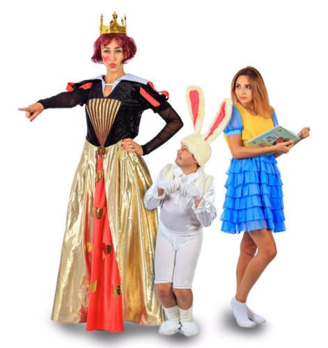 """Персонажи сказки  """"Алиса в стране чудес"""""""
